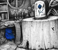 Blue Girl story by spowys