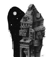 Night of mansion by spowys