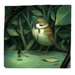 Lofty sparrow by spowys