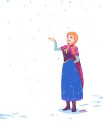 Frozen fanArt / Anna by spowys