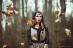 Autumn Leaves III by luciekout