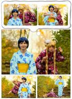 Usagi and Ami - mischange by Shizuku-Seijaku