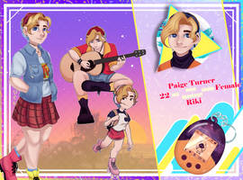[SNST] Paige Turner by Winterblume