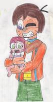 Byeba and Roselee by RacketFewl