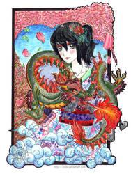 Geisha by Zhiibe