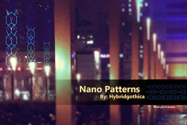 Nano Pattern By Hybridgothica. by hybridgothica