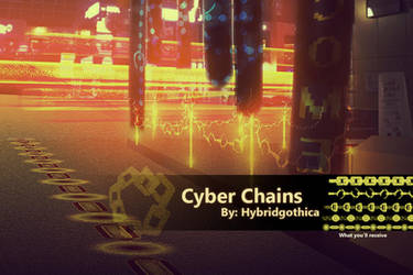 Cyber Chains By Hybridgothica. by hybridgothica