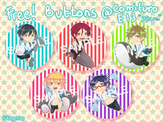 FREE!: Butt-ons ^q^ by KageNao