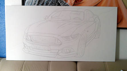 Ford Mustang 2015 WIP by Togusa76