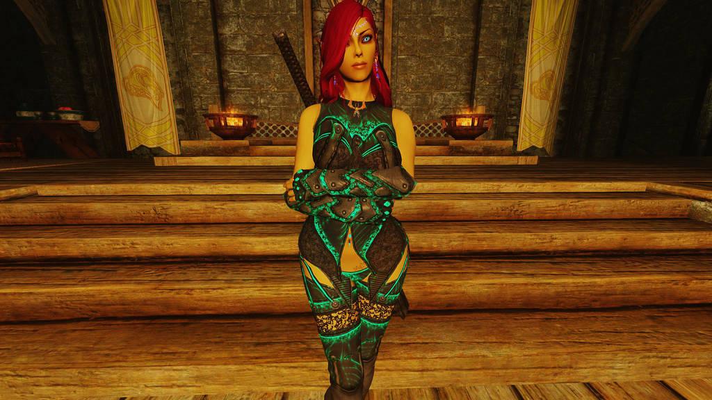Skyrim: Shae Tir'Linar 2 by DeathianDragonFear