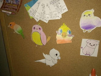 my lil bird drawings  by orange-lemon-lime