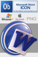Microsoft Word Icon by otas32