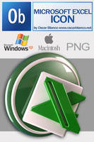 MICROSOFT EXCEL ICON by otas32