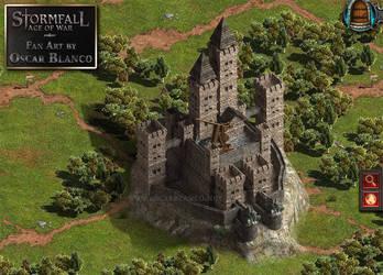 A Stormfall Fortress fan art by otas32