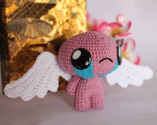 Crochet The Binding of Isaac Amigurumi by MaryjoeCraft