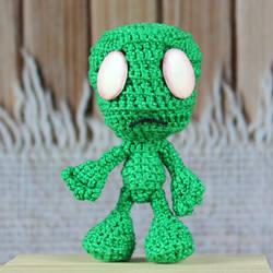 Crochet League of Legends Amumu Amigurumi by MaryjoeCraft