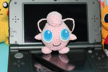 Crochet Pokemon Jigglypuff Amigurumi by MaryjoeCraft