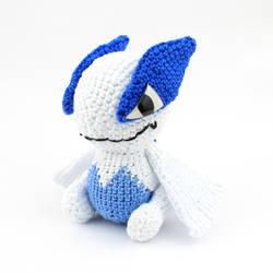 Crochet Lugia Amigurumi, Pokemon by MaryjoeCraft