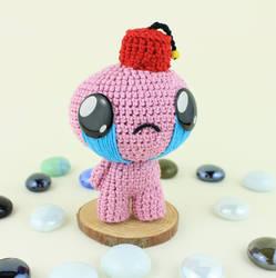 Crochet Judas Amigurumi, The Binding of Isaac by MaryjoeCraft