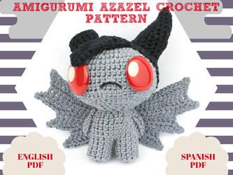 Amigurumi Azazel Crochet Pattern by MaryjoeCraft