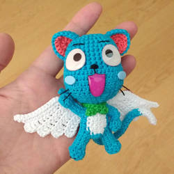 Crochet Happy inspired by Fairy Tail Series by MaryjoeCraft
