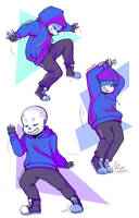 Dancetale Sans by Shuwappy