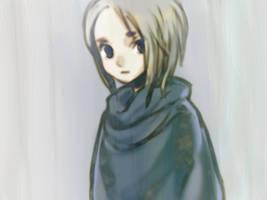 A Girl in slategrey by sweetmoon