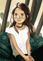 Girl Sketch by sweetmoon