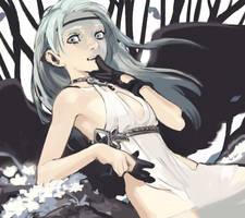Black wings by sweetmoon