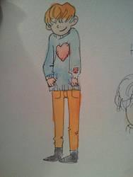 Pumkin's Sweater by FelixCorvus