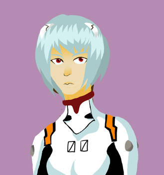 Rei Ayanami by FelixCorvus