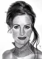 Julia Roberts by tanjadrawing