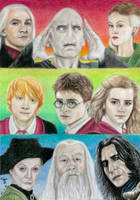 Harry Potter Assemble by tanjadrawing