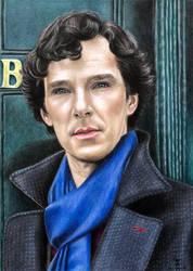 Sherlock by tanjadrawing