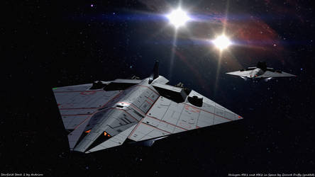 Halycon in Space 1 by gmd3d