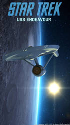 USS Endeavour by gmd3d