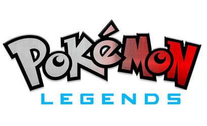 Pokemon Legends title screen by pokefan6498