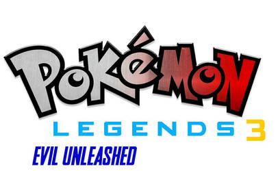 Pokemon Legends 3 evil unleashed title screen by pokefan6498
