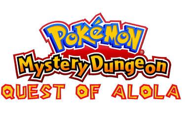 PMD quest of alola title screen by pokefan6498