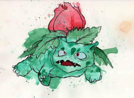 Ivysaur by GLoeNn