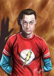Sheldon Cooper by Sondim