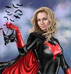 Yvonne Strahovski as Batwoman by Sondim