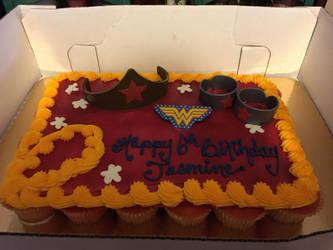 Wonder Woman birthday  by pornfairy