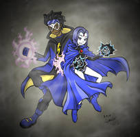 RQ_Static x Raven_TTG by StarlySpecter