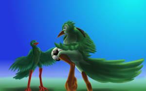 Birdball by Goldquiver