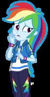 EQG Series - Unsure Rainbow Dash by ilaria122