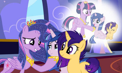 MLP Next Gen - We will always love you, mom! by ilaria122