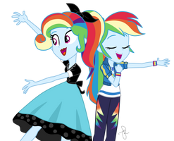 EQG Series - So much more to me (Rainbow version) by ilaria122