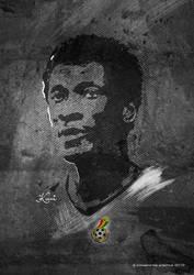 Asamoah Gyan by kwei-kofi