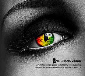 One Ghana Vision by kwei-kofi